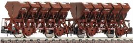 Fleischmann FM845101 2-tlg- Güterwagenset Muldenkip