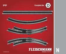 Fleischmann FM9191 Fleischmann 9191 N-Komplettset