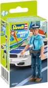 REVELL 00750 Polizistin 1:20, ab 4 Jahre