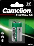 Camelion Super Heavy Duty Batterien, 9V, Block Blister