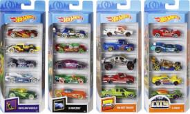 Mattel Hot Wheels 5-er Geschenkset, sortiert