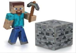 Minecraft Steve Figur mit Zubehör
