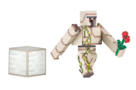 Minecraft Eisengolem Figur mit Zubehör