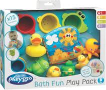 RothoPlaygro Badespielzeug-Geschenkset, 15-teilig