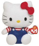 Hello Kitty Baby-Over.blau/rotweiss