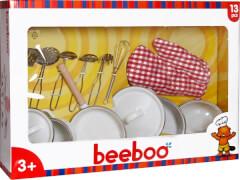 Beeboo Kitchen Spiel-Kochtopf-Set, 13-teilig