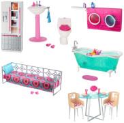 Mattel Barbie Möbel sortiert