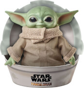Mattel GWD85 Roulette Star Wars Mandalorian The Child Baby Yoda Plüsch Figur (28 cm)