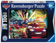 Ravensburger 105205  Puzzle Cars Neon 100 Teile