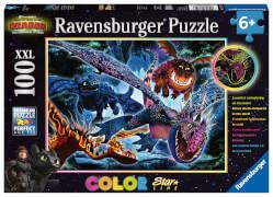 Ravensburger 13710 Puzzle Leuchtende Dragons 200 Teile XXL