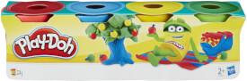 Hasbro 23241EU4 Play-Doh Schulknete Mini, 4-teilig, ab 2 Jahren