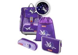 Step by Step Schulranzen-Set Touch 2 Flash Pegasus Purple, 4-teilig