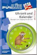 mini Lük Uhrzeit und Kalender, Lernheft, 24 Seiten, ab 7 Jahren