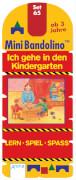 Mini Bandolino Set 65: Ich gehe in den Kindergarten