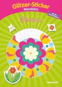 Tessloff Glitzer-Sticker-Mandala. Blumen