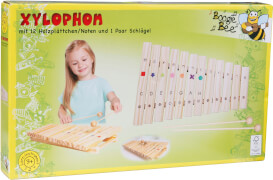 Boogie Bee Holz Xylophon mit 12 Noten
