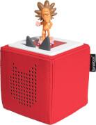 Toniebox Starterset Rot mit Hörfigur Löwe, rot, ab 3 Jahren