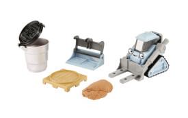 Mattel Bob der Baumeister Sandspaß Bob Figur und Fahrzeug