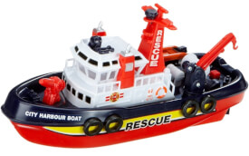 Rettungsboot sortiert inklusive Batterie