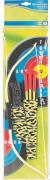 Outdoor active Pfeil-und Bogenset Indianer, 7-teilig, ca. 48,5x12x2,4 cm, ab 5 Jahren