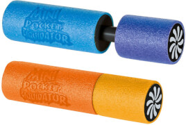 Mini-Wasserkanone Schaumstoff, ca. 15 cm