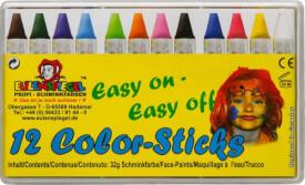 Eulenspiegel 626122 Color-Sticks - 12 Stück