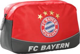 Kulturbeutel FC Bayern rot