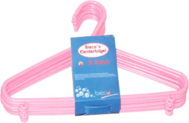 Kleiderbügel 8er Set, rosa