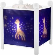 Magische Laterne Sophie the giraffe, Nachtlicht, ca. 17,8x17,5x26,5 cm, ab 3 Jahren