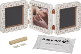 Baby Art My Baby Touch Double Print Frame