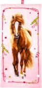 Zauberhandtuch Pferdefreunde (ca. 30 x 60 cm)