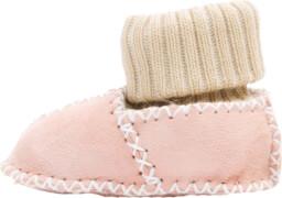 Fillikid Baby Lammfell Schuhe, rosa, Gr. 21/22
